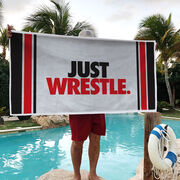 Wrestling Premium Beach Towel - Just Wrestle