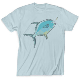 Vintage Fly Fishing T-Shirt - Permit On The Fly