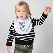 Rugby Baby Bib - Crawl Walk Rugby