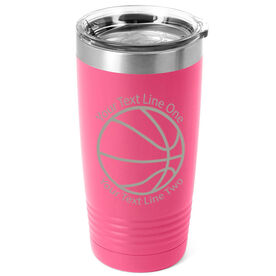 Basketball 20 oz. Double Insulated Tumbler - Icon