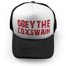 Crew Trucker Hat Obey The Coxswain