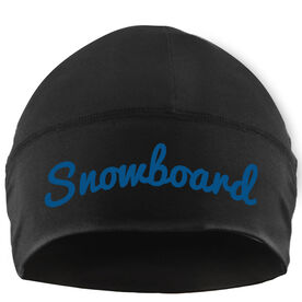 Snowboarding Beanie Performance Hat - Snowboard Script