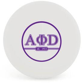 Personalized Greek Ball Lacrosse Ball (White Ball)