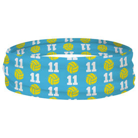 Volleyball Multifunctional Headwear - Custom Team Number Repeat RokBAND