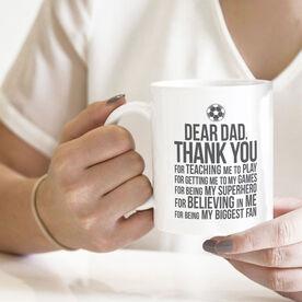 Soccer Coffee Mug - Dear Dad