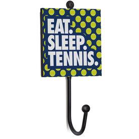 Tennis Medal Hook - Eat. Sleep. Tennis.