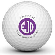 Bachelor Party Golf Ball