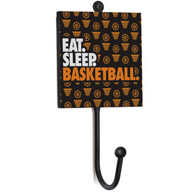 Basketball Medal Hook - Eat. Sleep. Basketball.