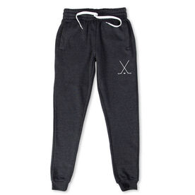 Hockey Men's Joggers - Hockey Stick Silhouette