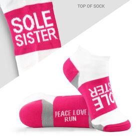 Socrates® Woven Performance Socks Sole Sister (Fuchsia)