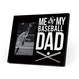Baseball Photo Frame - Me & My Baseball Dad