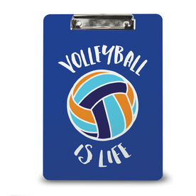 Volleyball Custom Clipboard Volleyball Is Life