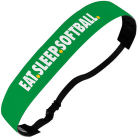 Softball Julibands No-Slip Headbands - Eat Sleep Softball