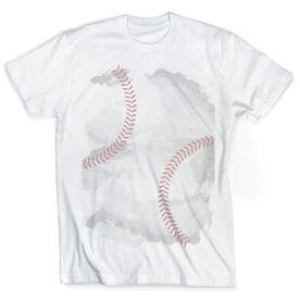 Vintage Baseball T-Shirt - Stitches