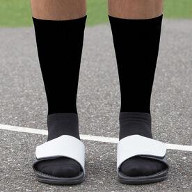 Baseball Printed Mid-Calf Socks - Team Colors
