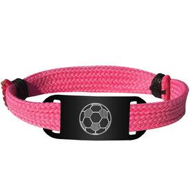 Soccer Lace Bracelet Ball Adjustable Sport Lace Bracelet