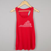 Flowy Racerback Tank Top - Virginia