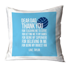 Volleyball Pillow Dear Dad