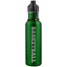 Varsity Basketball 24 oz Stainless Steel Water Bottle