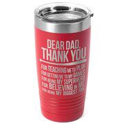 Baseball 20 oz. Double Insulated Tumbler - Dear Dad