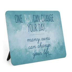 Running Desk Art - Change Your Life