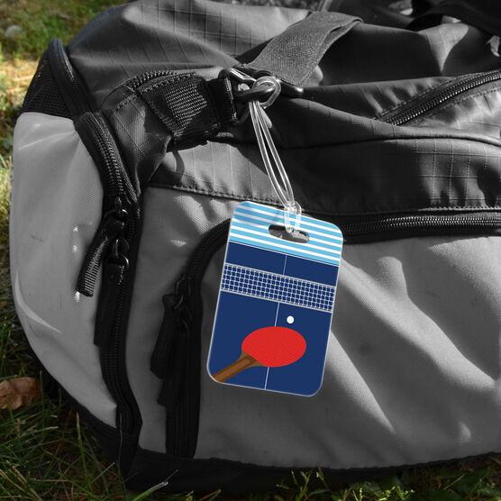 Ping Pong Bag/Luggage Tag - Table