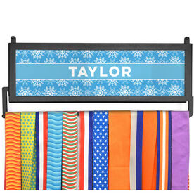 AthletesWALL Medal Display - Personalized Snowflake Pattern
