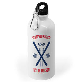 Skiing 20 oz. Stainless Steel Water Bottle - Ski Team