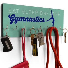 Gymnastics Hook Board Eat Sleep Breathe Gymnastics