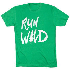 Running Short Sleeve T-Shirt - Run Wild Sketch