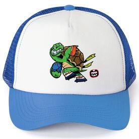 Seams Wild Football Trucker Hat - Slowyo