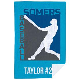 Baseball Premium Blanket - Custom Team Logo