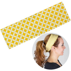 RunTechnology Tempo Performance Headband - Clara Yellow