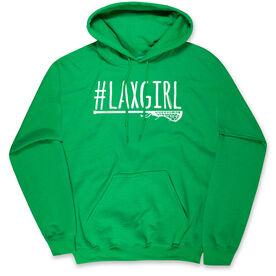 Girls Lacrosse Standard Sweatshirt - #LAXGIRL