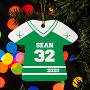 Hockey Ornament - Personalized Jersey