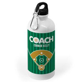 Baseball 20 oz. Stainless Steel Water Bottle - Coach Field
