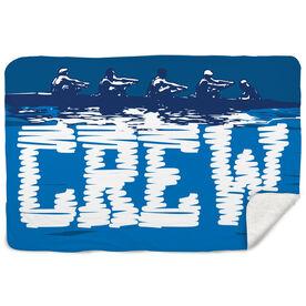 Crew Sherpa Fleece Blanket Crew Water Reflection
