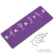 Figure Skating Hooked on Medals Hanger - Skate With Silhouettes