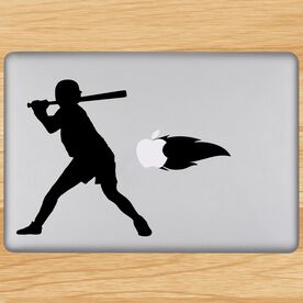 Fastball Batter Removable ChalkTalkGraphix Laptop Decal