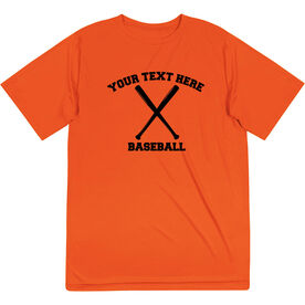 Baseball Short Sleeve Performance Tee - Custom Baseball