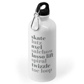 Figure Skating 20 oz. Stainless Steel Water Bottle - Skate Mantra
