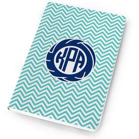 Volleyball Notebook Monogram