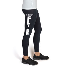 Cheer High Print Leggings Frequent Flyer