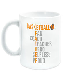 Basketball Coffee Mug - Basketball Father Words