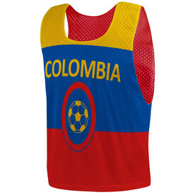 Soccer Pinnie - Colombia