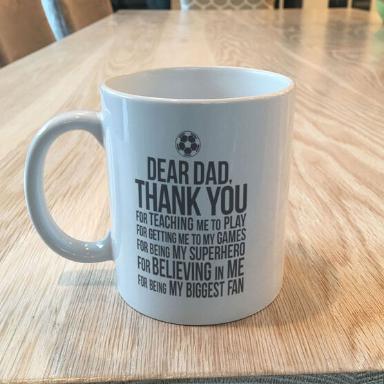 Soccer Coffee Mug - Dear Dad