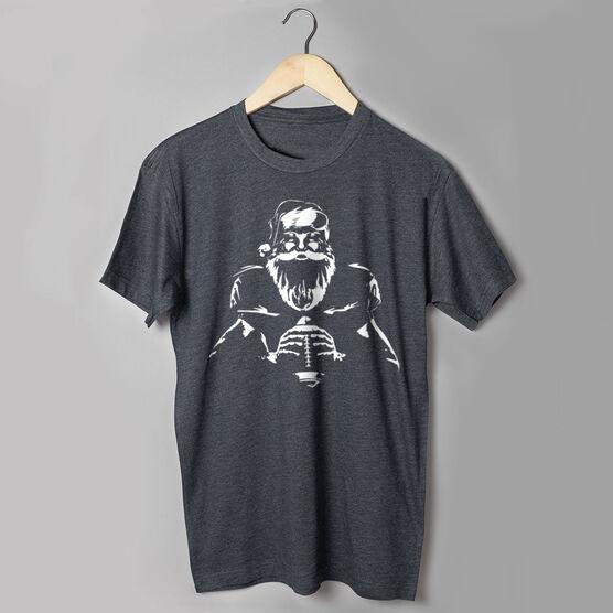Football Short Sleeve T-Shirt - Santa Player