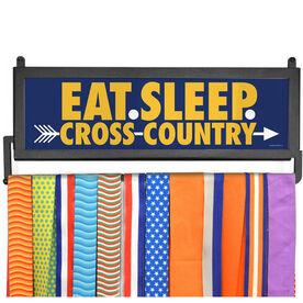 AthletesWALL Medal Display - Eat Sleep Cross Country