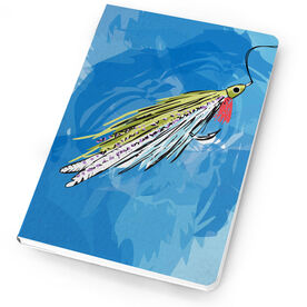 Fly Fishing Notebook Watercolor Deceiver