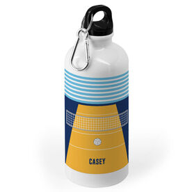 Volleyball 20 oz. Stainless Steel Water Bottle - Court